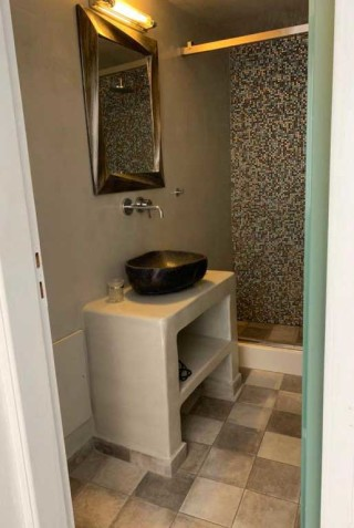 double room nefeli homes bathroom